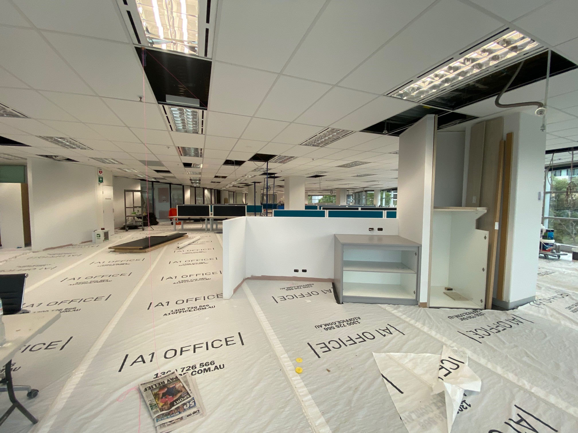 DCE Richmond Office Expansion Well Underway